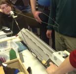 TextilTag-Strickmaschine