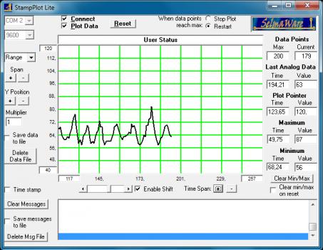 StampPlotLiteScreen 453x350 Ding des Monats 11/2012   Biofeedback mit Arduino | Dingfabrik Köln