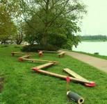 Kunst am laufenden Meter, Schlosspark Stammheim