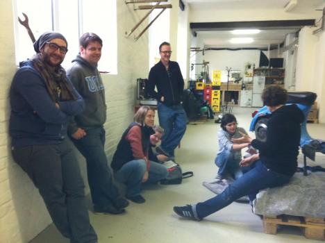 Vespa3 468x350 Review: Vespa Schraub Kurs in der Dingfabrik | Dingfabrik Köln