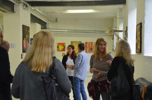 DSC 0014 500x331 review: Vernissage von Uwe Anders | Dingfabrik Köln