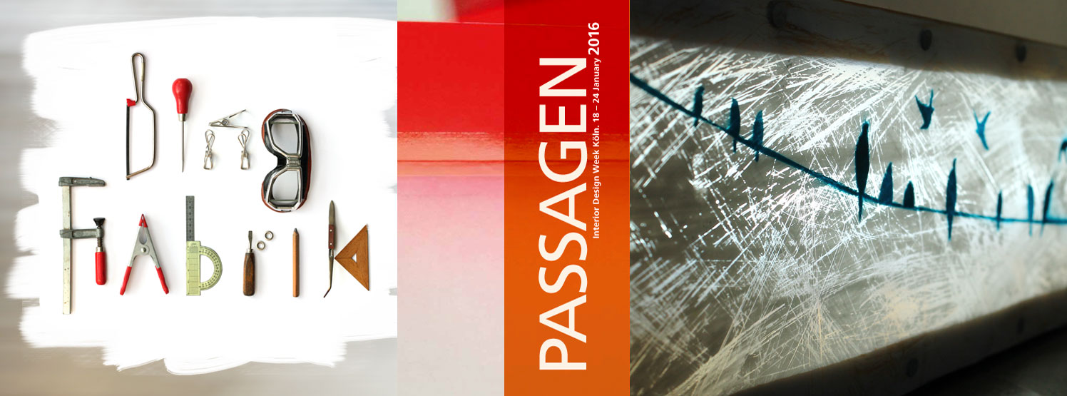 DingFabrik WERKSCHAU @PASSAGEN 2016