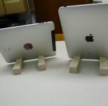 Test der iPad Ständer von hinten
