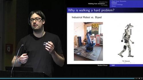Norbert (DingFabrik) und The eXperimental Robot Project