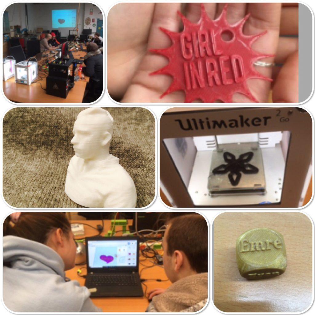 3D-Druck: Beispiele aus der Jugendgruppe.